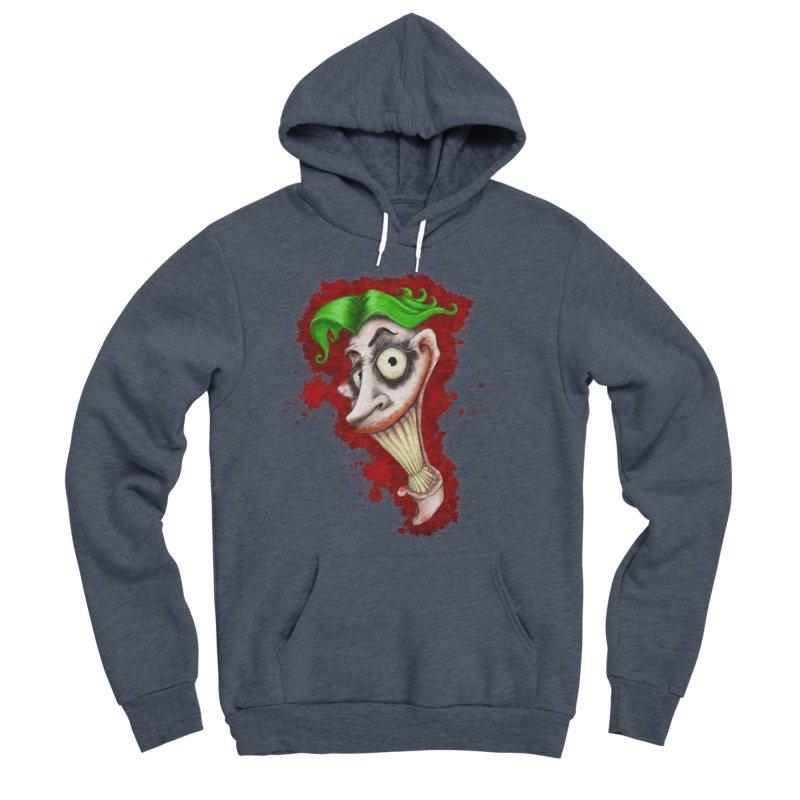 joke's on you - joker - batman Men's Sponge Fleece Pullover Hoody by the twisted world of godriguezart