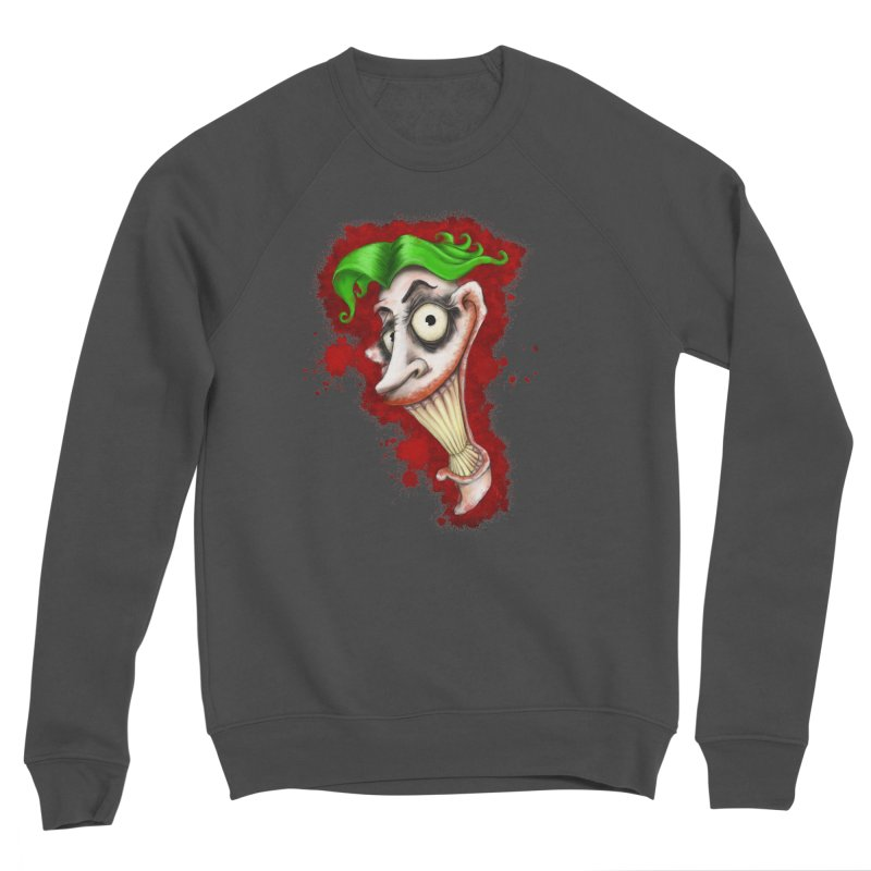joke's on you - joker - batman Women's Sponge Fleece Sweatshirt by the twisted world of godriguezart