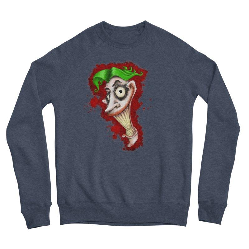joke's on you - joker - batman Women's Sponge Fleece Sweatshirt by the twisted world of godriguezart