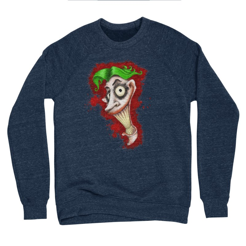 joke's on you - joker - batman Men's Sponge Fleece Sweatshirt by the twisted world of godriguezart