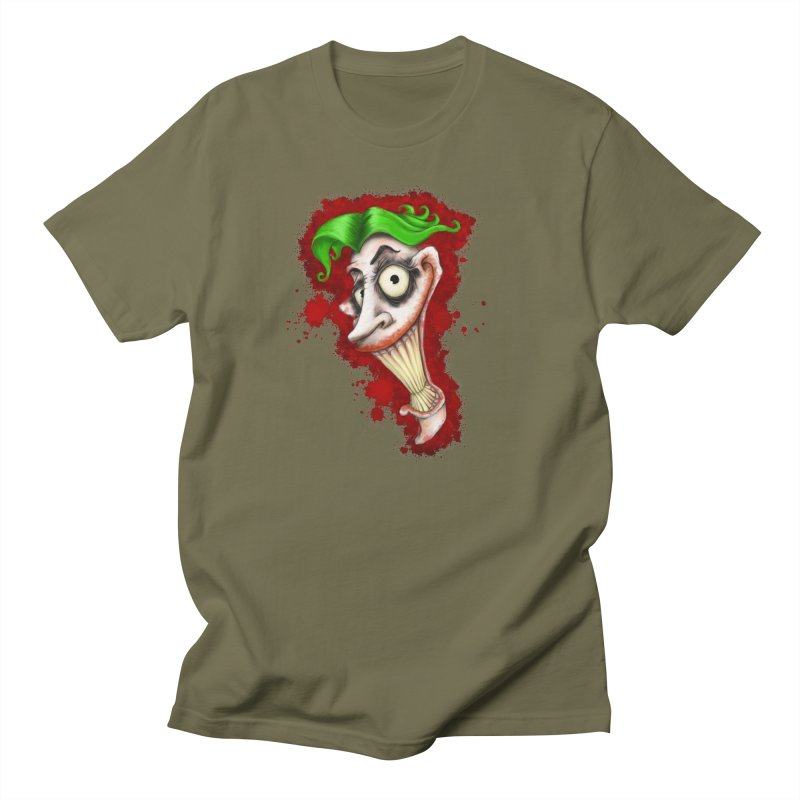 joke's on you - joker - batman Men's T-Shirt by the twisted world of godriguezart