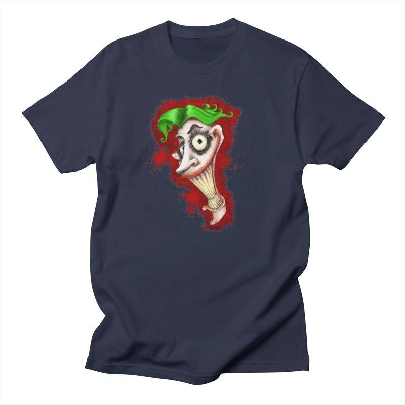 joke's on you - joker - batman Men's T-Shirt by the twisted world of godriguezart