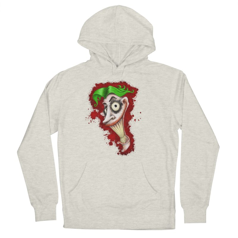 joke's on you - joker - batman Women's French Terry Pullover Hoody by the twisted world of godriguezart