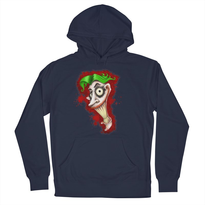 joke's on you - joker - batman Men's French Terry Pullover Hoody by the twisted world of godriguezart