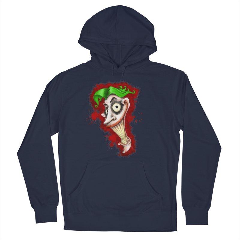 joke's on you - joker - batman Men's Pullover Hoody by the twisted world of godriguezart