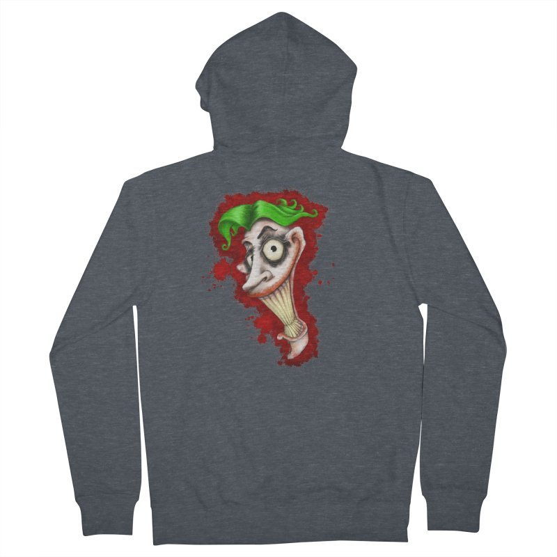 joke's on you - joker - batman Women's French Terry Zip-Up Hoody by the twisted world of godriguezart