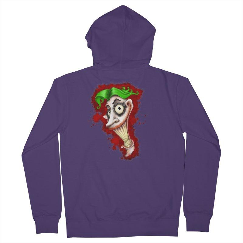 joke's on you - joker - batman Women's Zip-Up Hoody by the twisted world of godriguezart