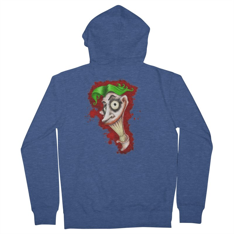 joke's on you - joker - batman Men's French Terry Zip-Up Hoody by the twisted world of godriguezart