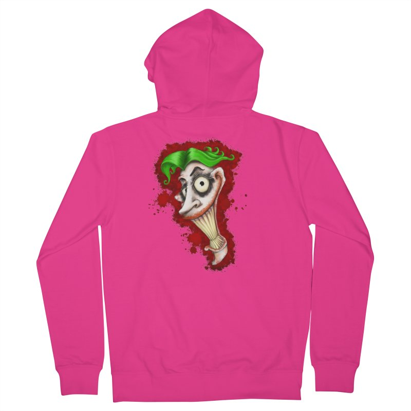 joke's on you Men's French Terry Zip-Up Hoody by the twisted world of godriguezart