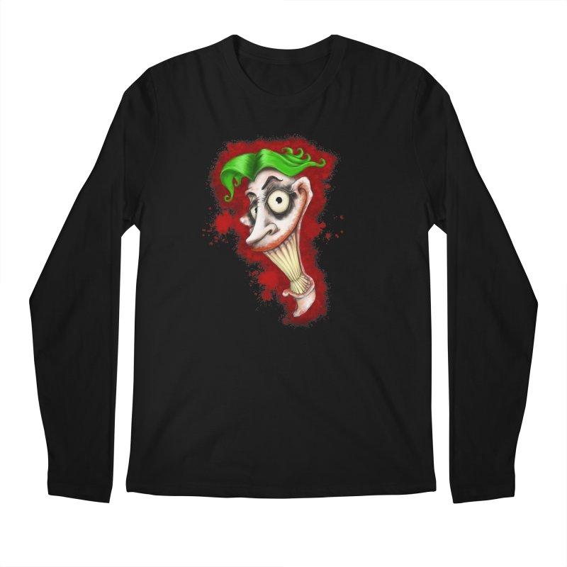 joke's on you Men's Regular Longsleeve T-Shirt by the twisted world of godriguezart