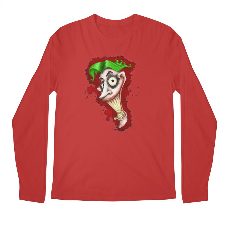 joke's on you - joker - batman Men's Regular Longsleeve T-Shirt by the twisted world of godriguezart