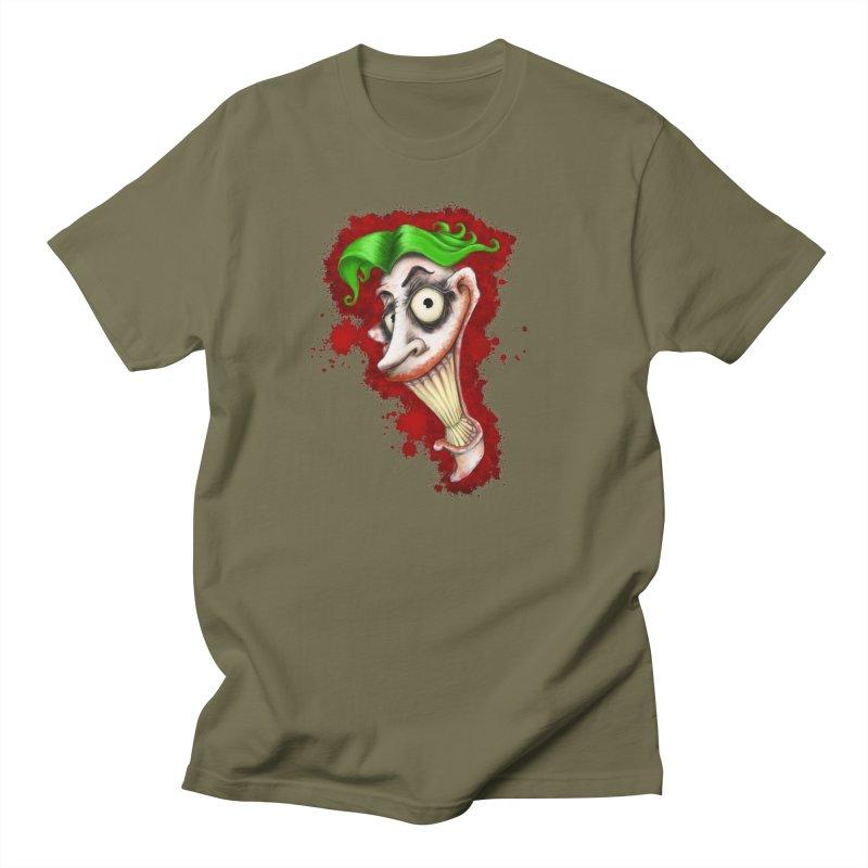 joke's on you - joker - batman Men's Regular T-Shirt by the twisted world of godriguezart