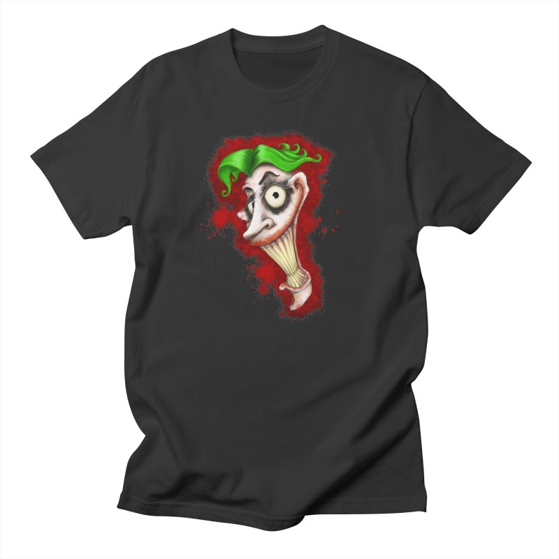 joke's on you - joker - batman Men's Regular T-Shirt by the twisted world of godriguezart