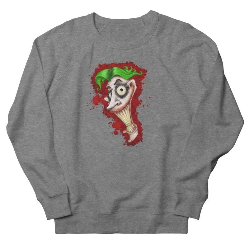 joke's on you - joker - batman Women's French Terry Sweatshirt by the twisted world of godriguezart