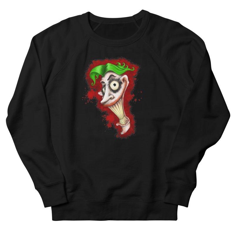 joke's on you - joker - batman Men's French Terry Sweatshirt by the twisted world of godriguezart