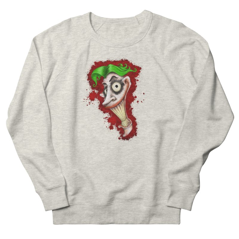 joke's on you Men's French Terry Sweatshirt by the twisted world of godriguezart