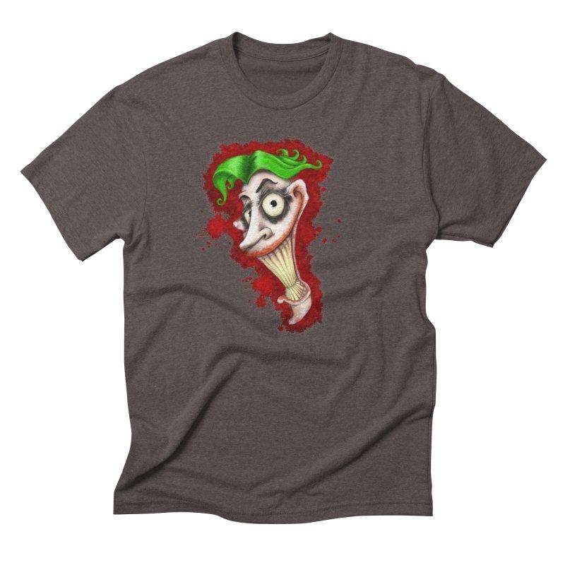 joke's on you - joker - batman Men's Triblend T-Shirt by the twisted world of godriguezart