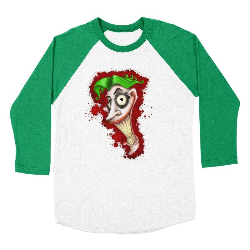 joke's on you - joker - batman Women's Baseball Triblend Longsleeve T-Shirt by the twisted world of godriguezart