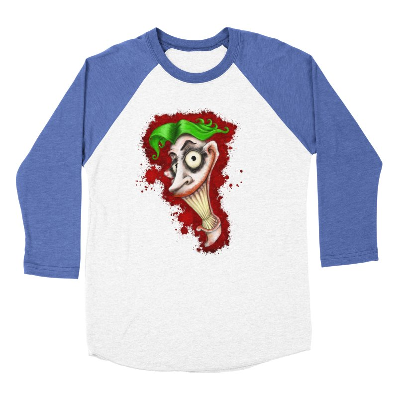 joke's on you - joker - batman Men's Baseball Triblend Longsleeve T-Shirt by the twisted world of godriguezart