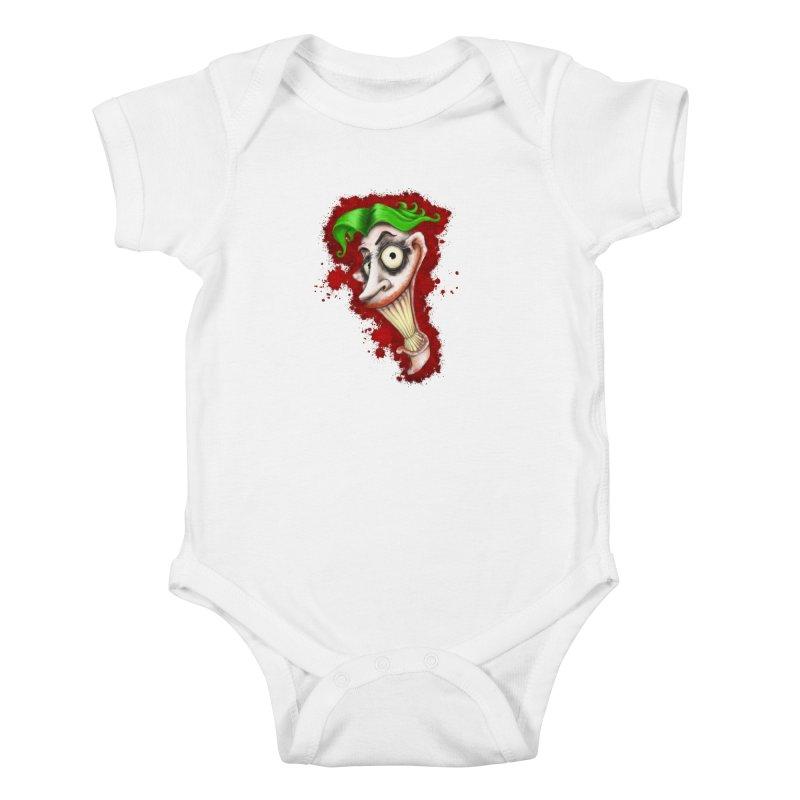 joke's on you - joker - batman Kids Baby Bodysuit by the twisted world of godriguezart