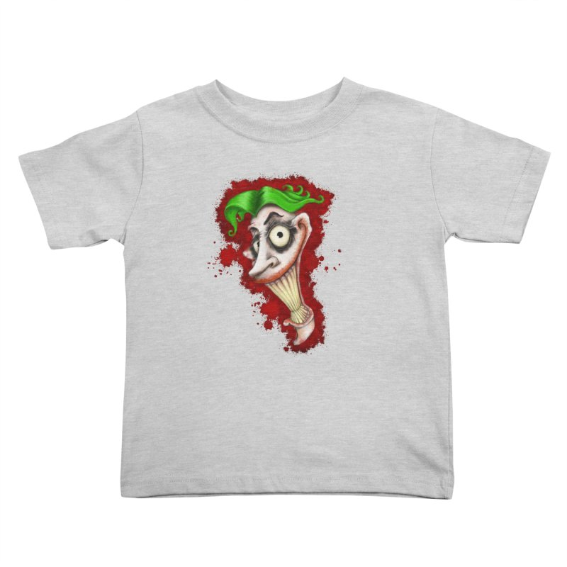 joke's on you - joker - batman Kids Toddler T-Shirt by the twisted world of godriguezart