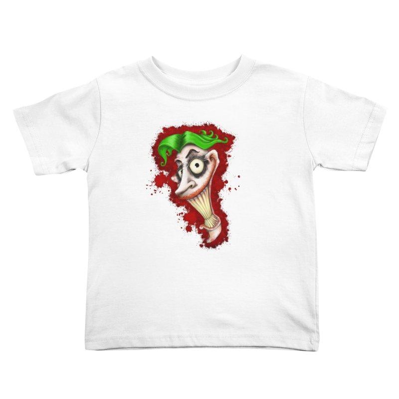 joke's on you - joker - batman Kids Toddler T-Shirt by the twisted world of godriguezart