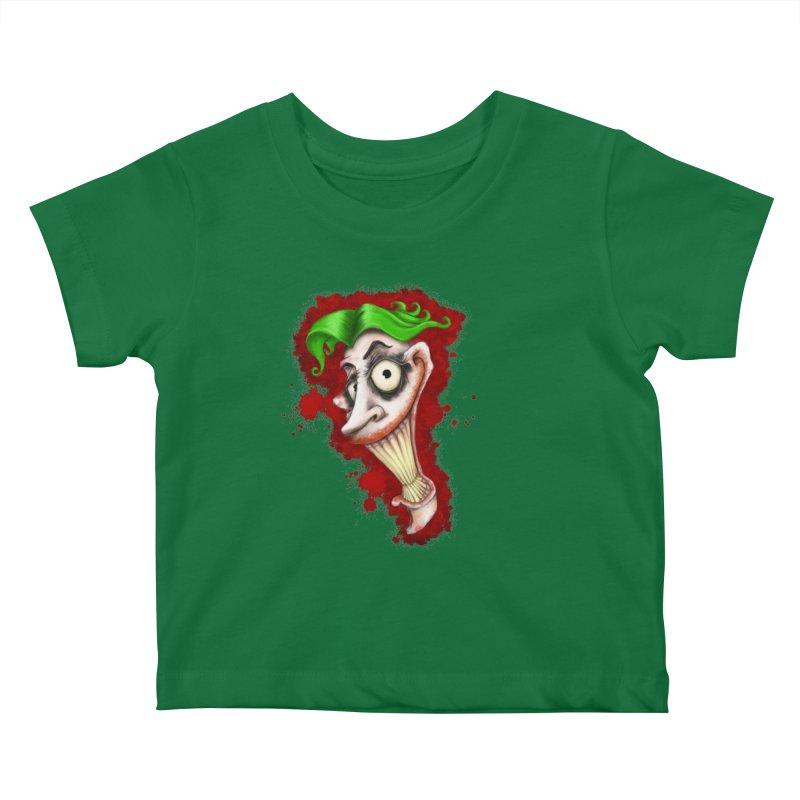 joke's on you - joker - batman Kids Baby T-Shirt by the twisted world of godriguezart