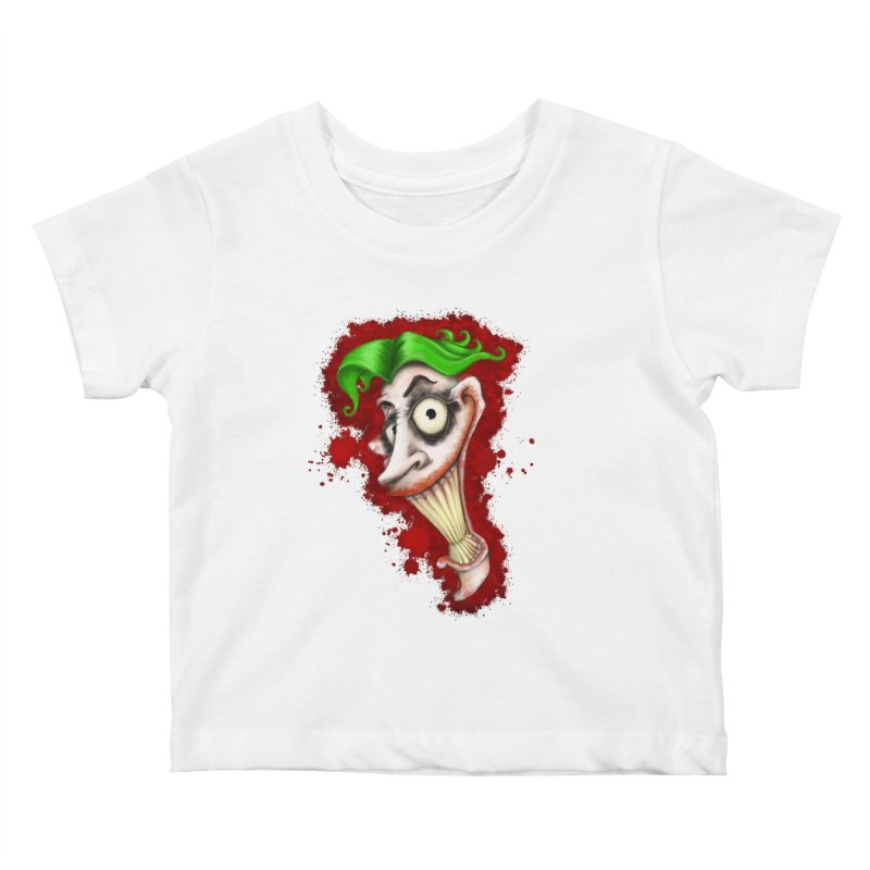 joke's on you - joker - batman Kids Baby T-Shirt by the twisted world of godriguezart