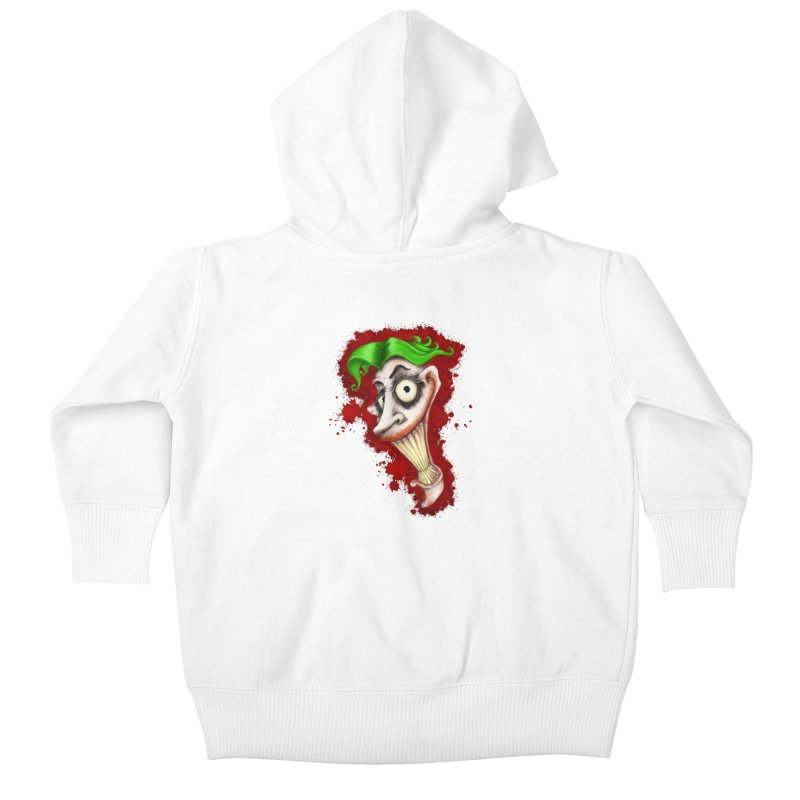joke's on you Kids Baby Zip-Up Hoody by the twisted world of godriguezart