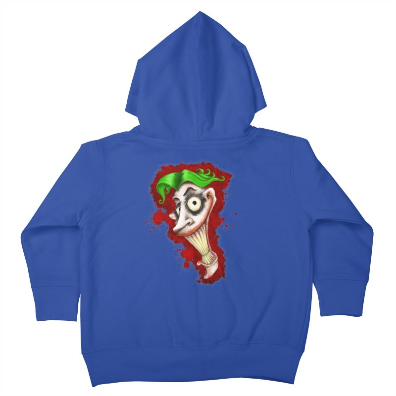joke's on you Kids Toddler Zip-Up Hoody by the twisted world of godriguezart