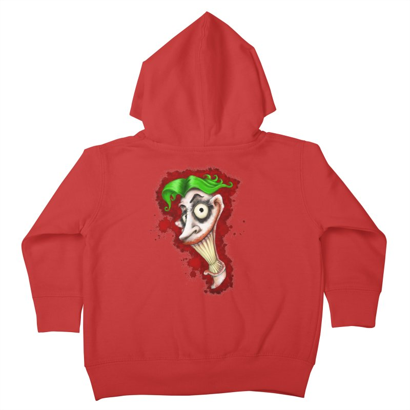 joke's on you - joker - batman Kids Toddler Zip-Up Hoody by the twisted world of godriguezart
