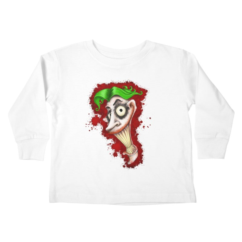 joke's on you Kids Toddler Longsleeve T-Shirt by the twisted world of godriguezart