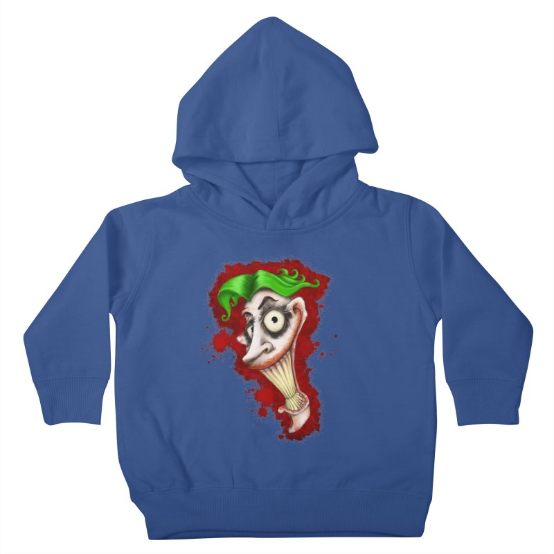 joke's on you - joker - batman Kids Toddler Pullover Hoody by the twisted world of godriguezart