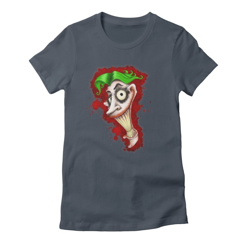 joke's on you - joker - batman Women's Fitted T-Shirt by the twisted world of godriguezart