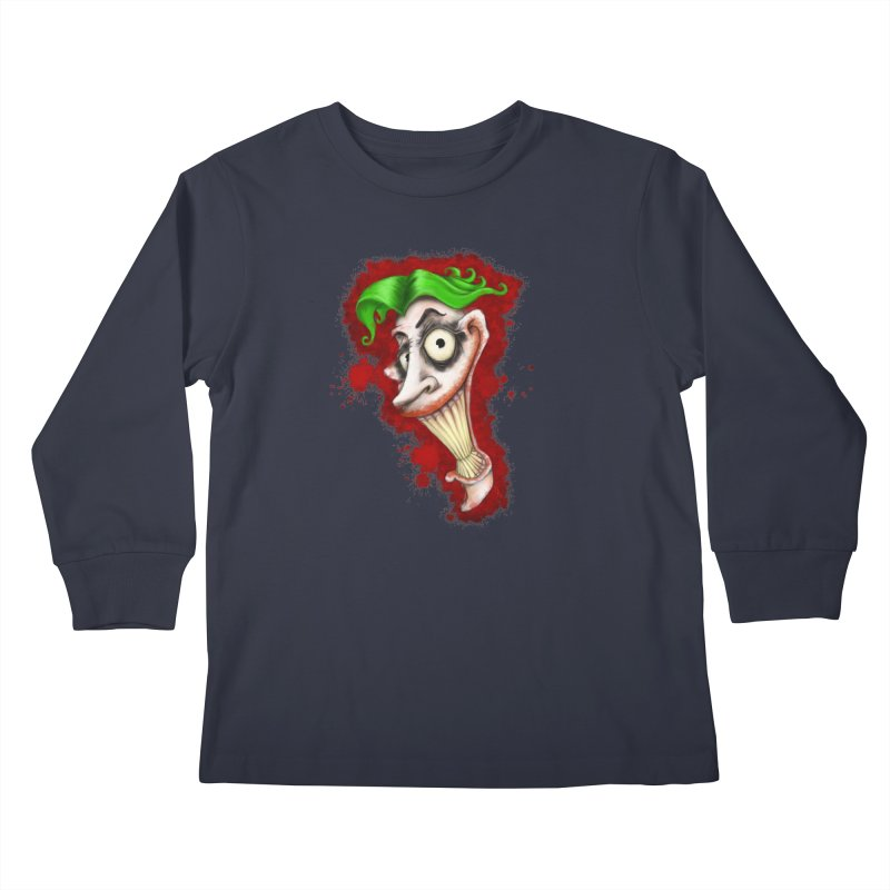joke's on you - joker - batman Kids Longsleeve T-Shirt by the twisted world of godriguezart