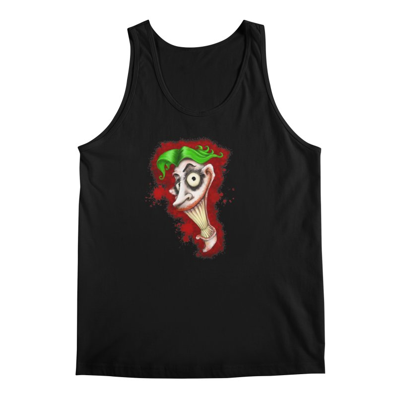 joke's on you - joker - batman Men's Regular Tank by the twisted world of godriguezart
