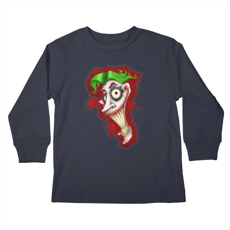 joke's on you Kids Longsleeve T-Shirt by the twisted world of godriguezart