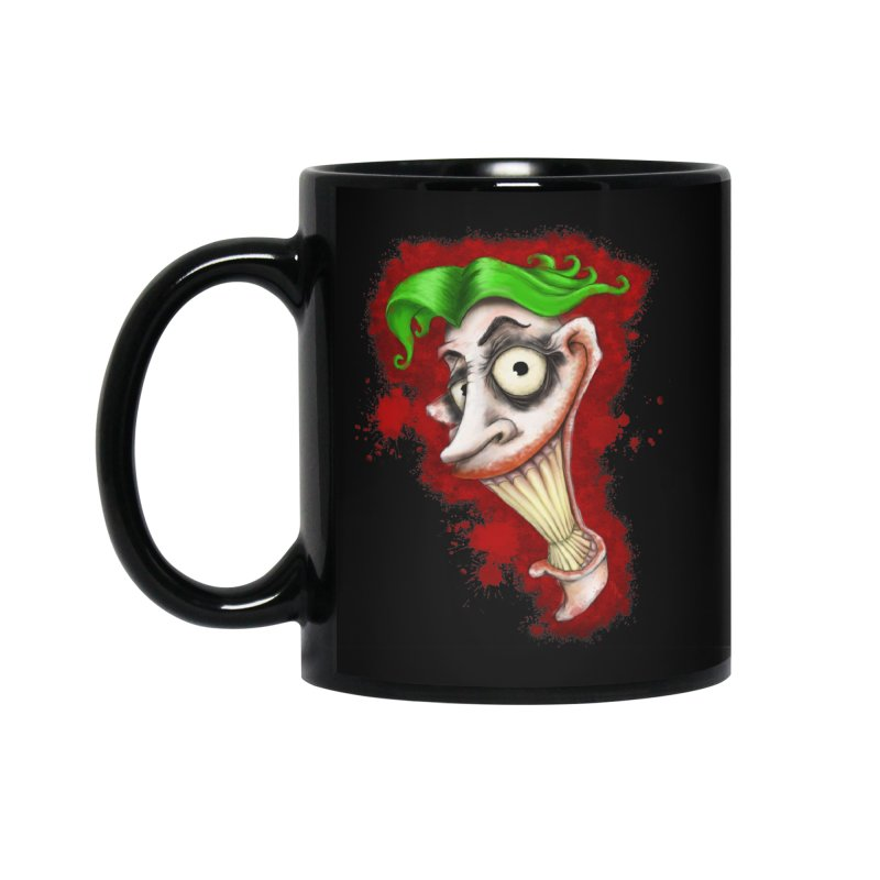 joke's on you - joker - batman Accessories Standard Mug by the twisted world of godriguezart