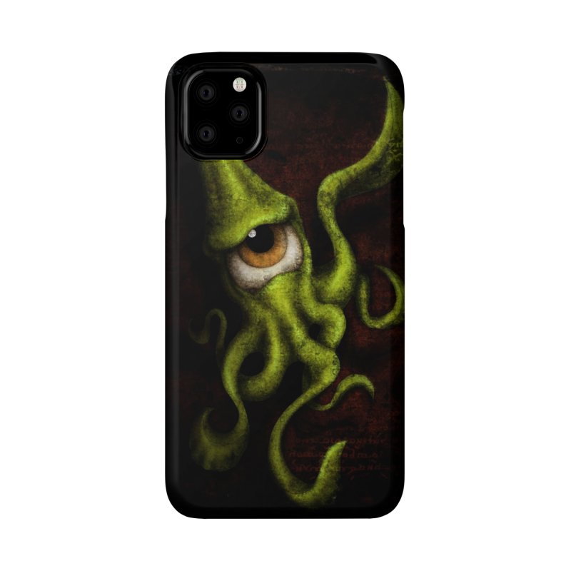 eye of cthulu Accessories Phone Case by the twisted world of godriguezart