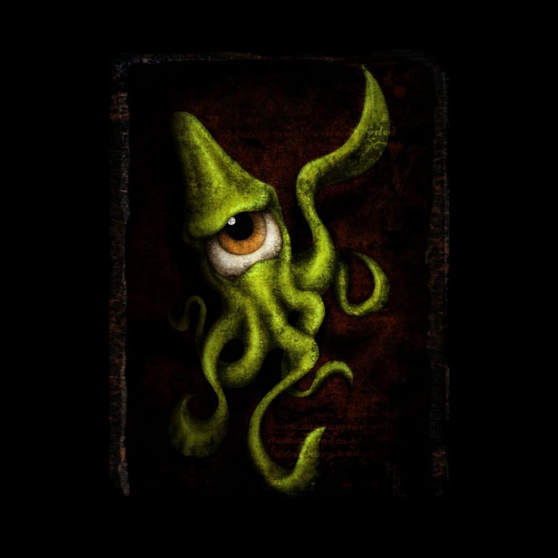 eye of cthulu Accessories Sticker by the twisted world of godriguezart