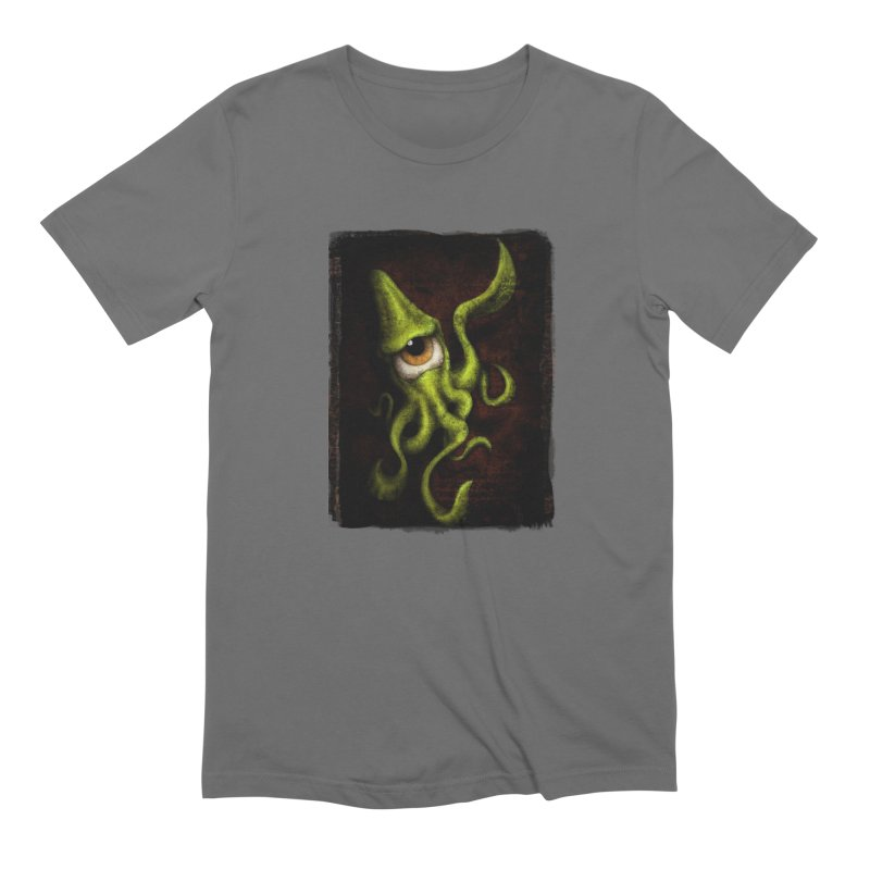 eye of cthulu Men's T-Shirt by the twisted world of godriguezart