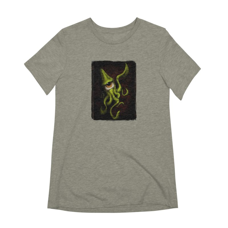 eye of cthulu Women's Extra Soft T-Shirt by the twisted world of godriguezart