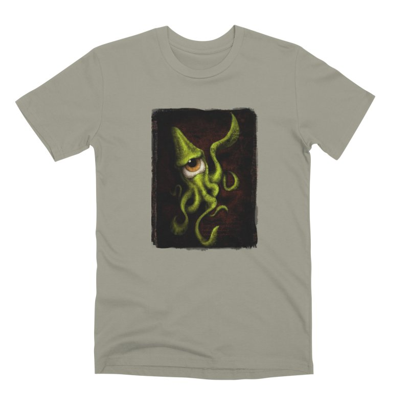 eye of cthulu Men's Premium T-Shirt by the twisted world of godriguezart