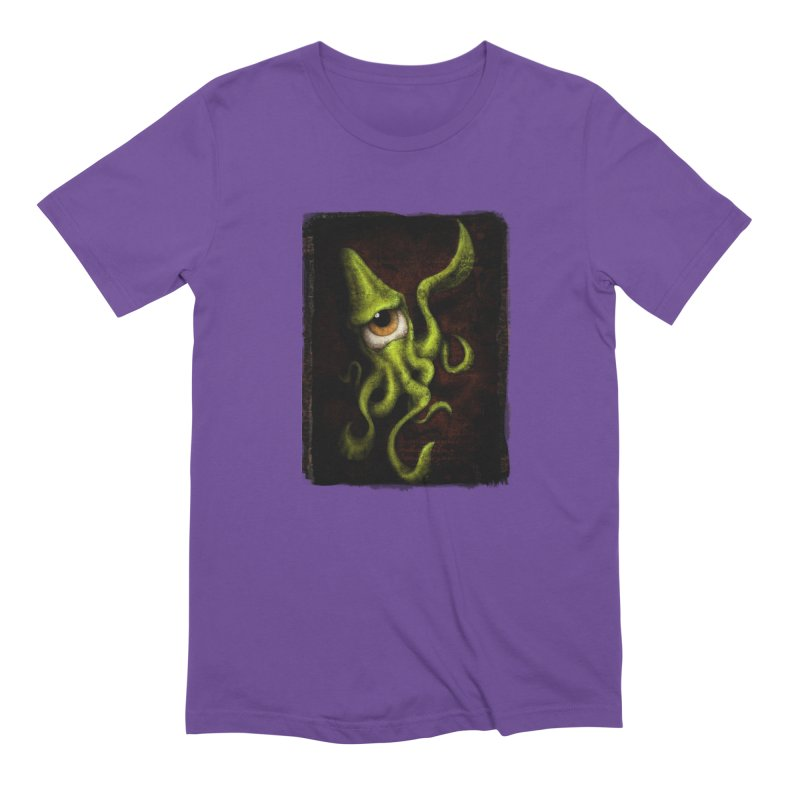 eye of cthulu Men's Extra Soft T-Shirt by the twisted world of godriguezart