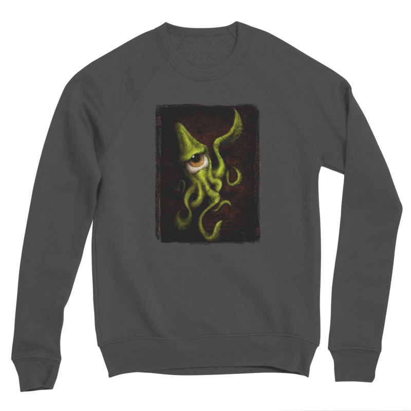 eye of cthulu Men's Sponge Fleece Sweatshirt by the twisted world of godriguezart