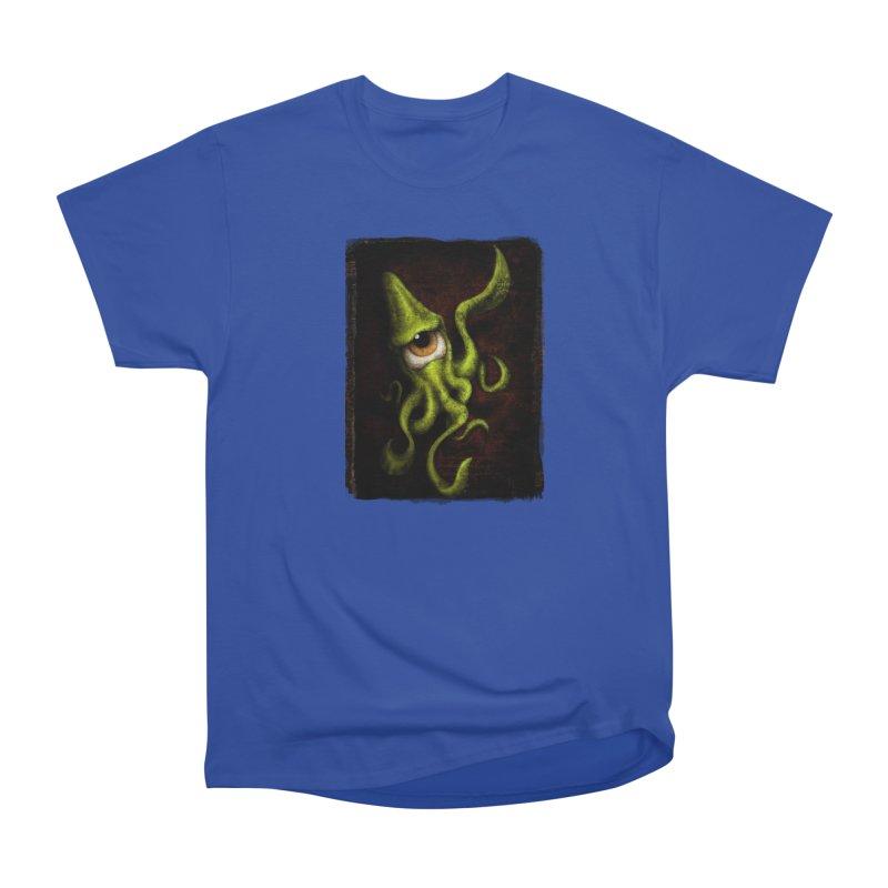 eye of cthulu Women's Heavyweight Unisex T-Shirt by the twisted world of godriguezart