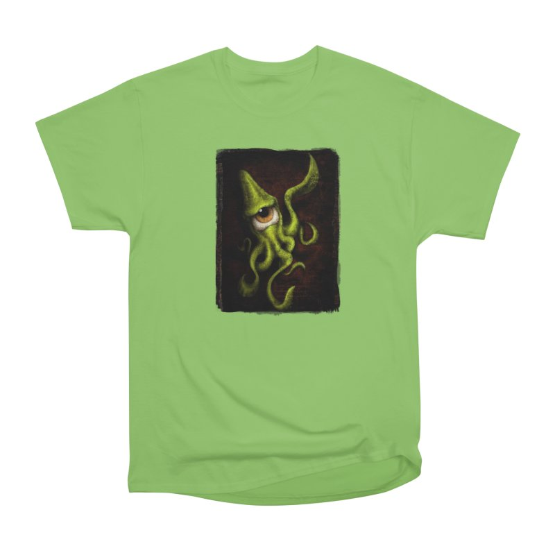 eye of cthulu Men's Heavyweight T-Shirt by the twisted world of godriguezart