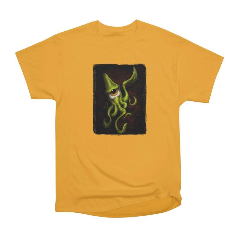 eye of cthulu Men's Heavyweight T-Shirt by the twisted world of godriguezart