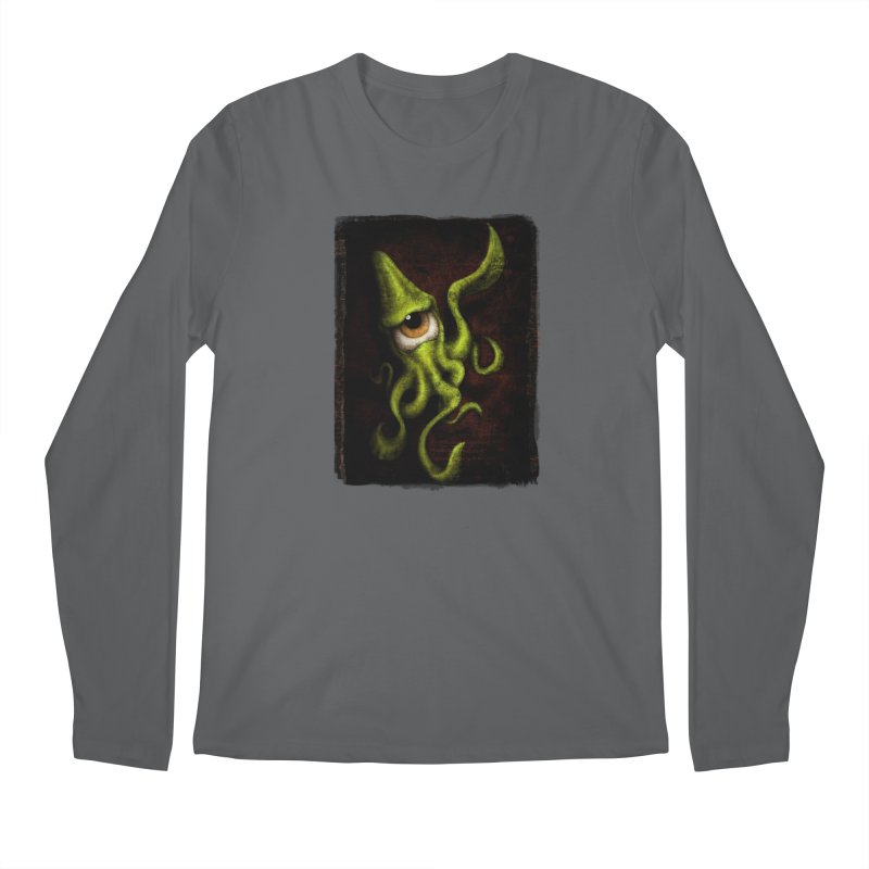 eye of cthulu Men's Longsleeve T-Shirt by the twisted world of godriguezart