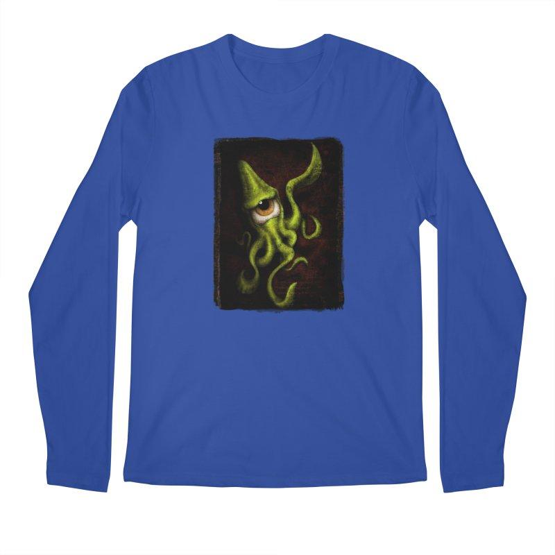 eye of cthulu Men's Regular Longsleeve T-Shirt by the twisted world of godriguezart